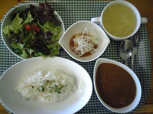 イベリコ豚の挽肉カレー
