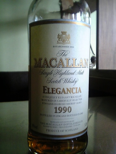 ザ・マッカラン エレガンシア1990
